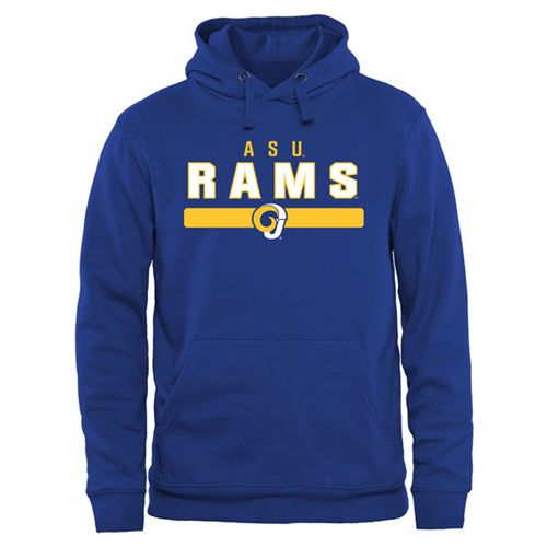 Angelo State Rams Team Strong Pullover Hoodie Royal Blue