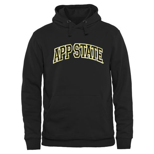 Appalachian State Mountaineers Arch Name Pullover Hoodie Black