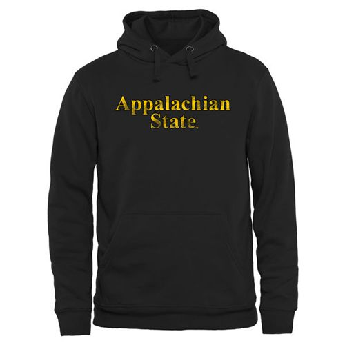 Appalachian State Mountaineers Classic Wordmark Pullover Hoodie Black