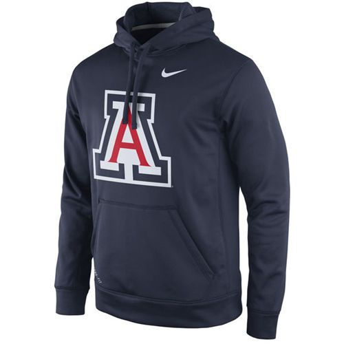 Arizona Wildcats Nike Practice Performance Hoodie Navy
