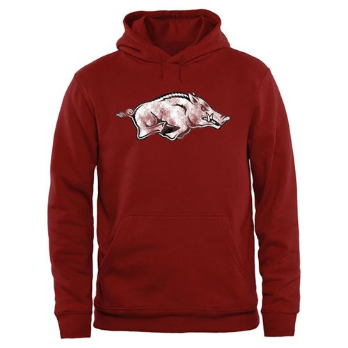 Arkansas Razorbacks Big & Tall Classic Primary Pullover Hoodie Cardinal