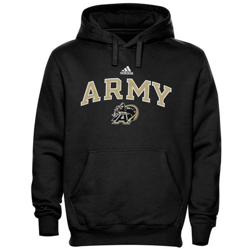 Army Black Knights Adidas In Play Pullover Hoodie Black