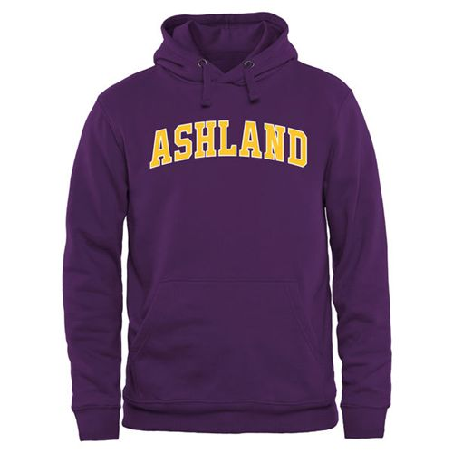Ashland Eagles Everyday Pullover Hoodie Purple