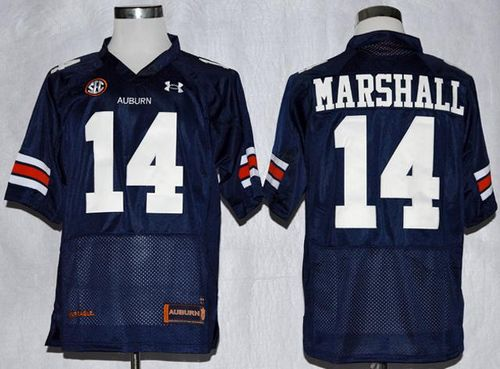 Tigers #14 Nick Marshall Blue Stitched NCAA Jersey