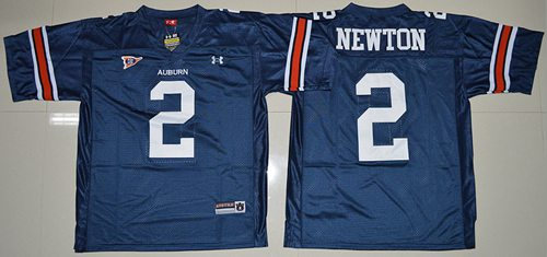 Tigers #2 Newton Blue Stitched NCAA Jersey