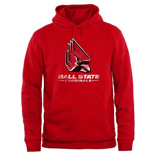 Ball State Cardinals Big & Tall Classic Primary Pullover Hoodie Red