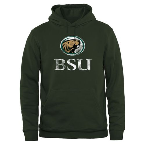 Bemidji State Beavers Big & Tall Classic Primary Pullover Hoodie Green