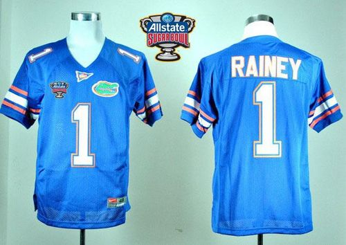 Gators #1 Chris Rainey Blue Allstate Sugar Bowl Stitched NCAA Jersey
