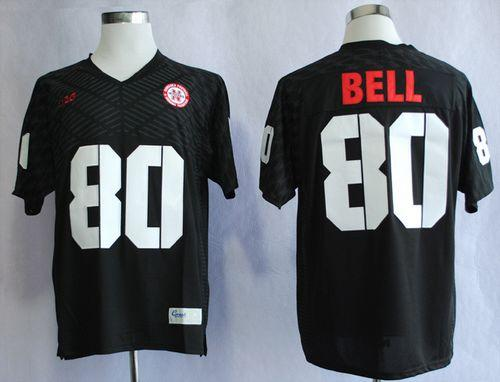 Cornhuskers #80 Kenny Bell Black New Big 10 Stitched NCAA Jersey