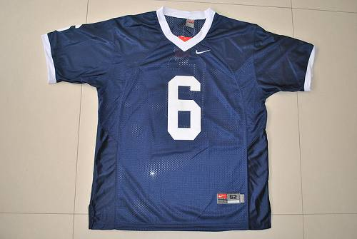 Nittany Lions #6 Navy Blue Stitched NCAA Jersey
