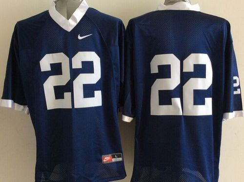 Nittany Lions #22 Navy Blue Stitched NCAA Jersey