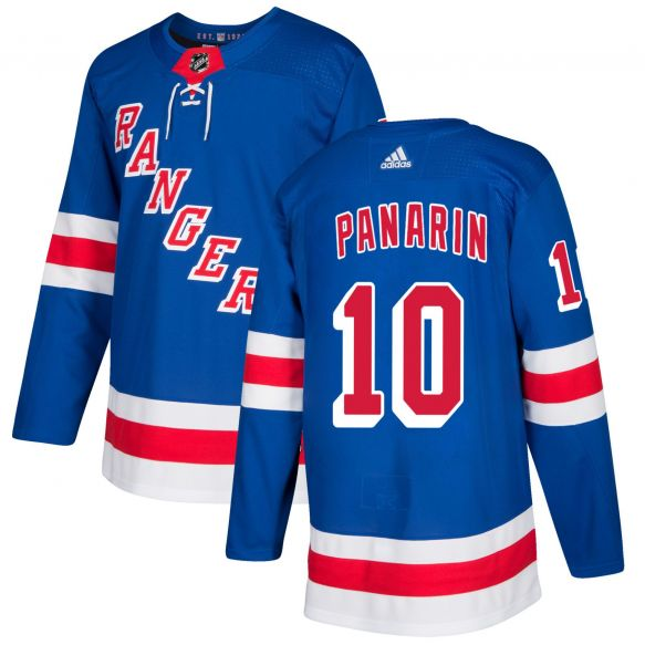 Men's New York Rangers #10 Artemi Panarin Blue Stitched NHL Jersey