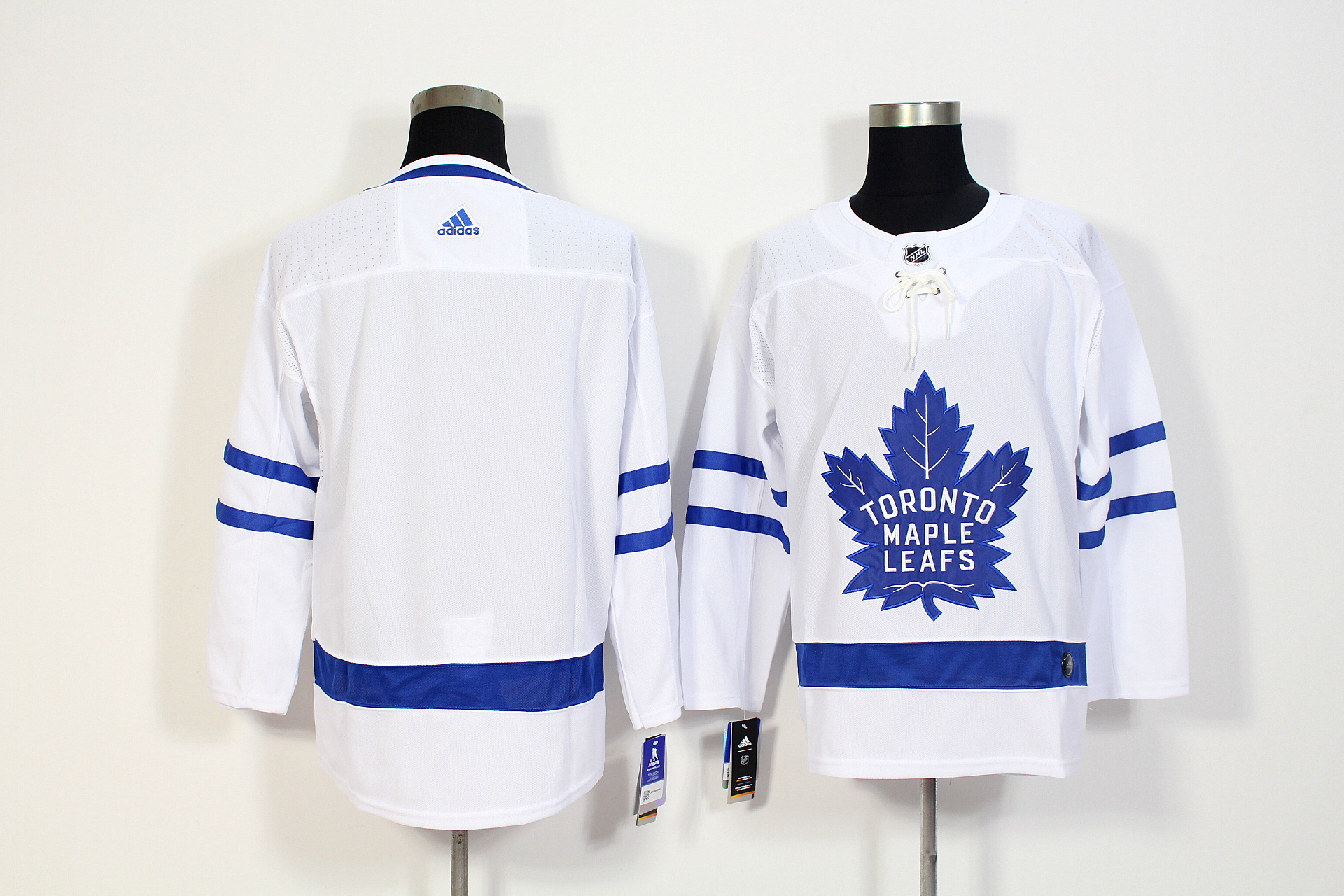 Men's Adidas Toronto Maple Leafs White Stitched NHL Jersey