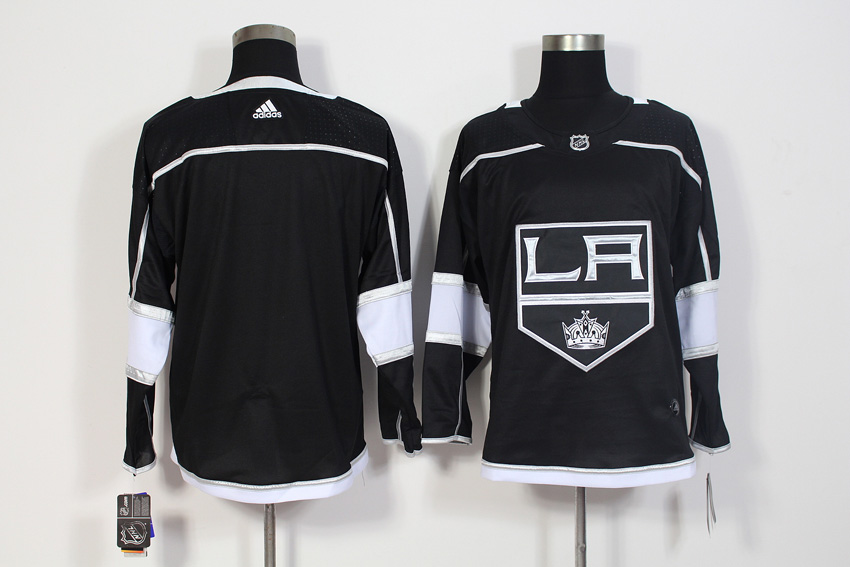 Men's Adidas Los Angeles Kings Black Stitched NHL Jersey