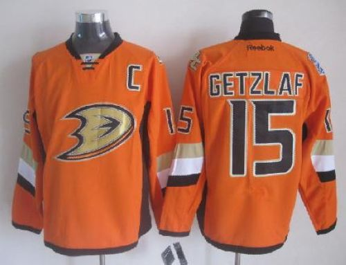 Ducks #15 Ryan Getzlaf Orange 2014 Stadium Series Stitched NHL Jersey