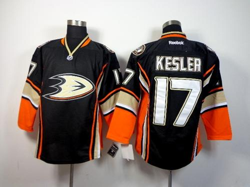 Ducks #17 Ryan Kesler Black Third Stitched NHL Jersey