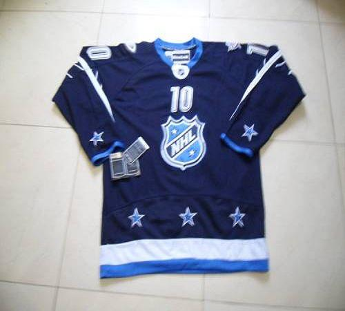 Ducks #10 Corey Perry 2012 All Star Navy Blue Stitched NHL Jersey