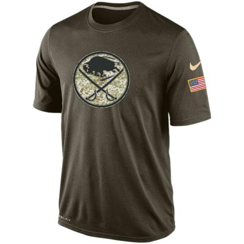 Men's Buffalo Sabres Salute To Service Nike Dri-FIT T-Shirt