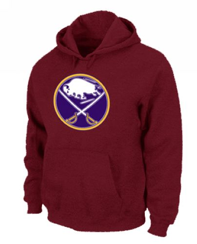 NHL Buffalo Sabres Big & Tall Logo Pullover Hoodie Red