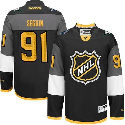 Stars #91 Tyler Seguin Black 2016 All Star Stitched NHL Jersey