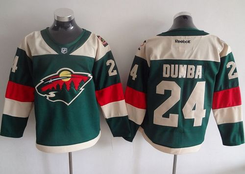 Wild #24 Matt Dumba Green 2016 Stadium Series Stitched NHL Jersey