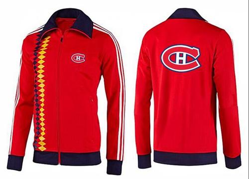 NHL Montreal Canadiens Zip Jackets orange-2