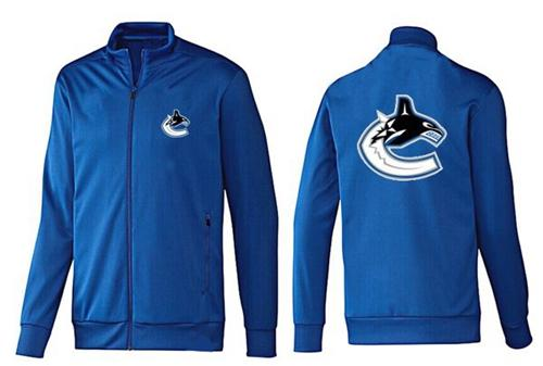 NHL Vancouver Canucks Zip Jackets Blue-1