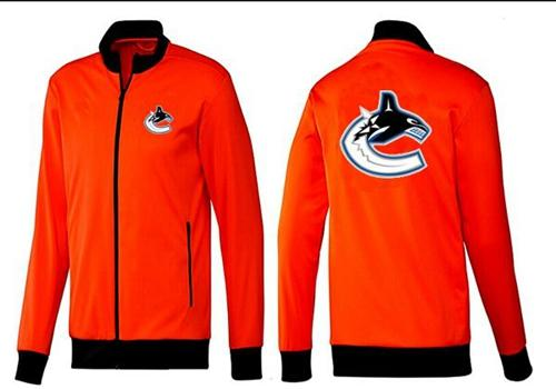NHL Vancouver Canucks Zip Jackets Orange