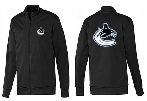 NHL Vancouver Canucks Zip Jackets Black-1