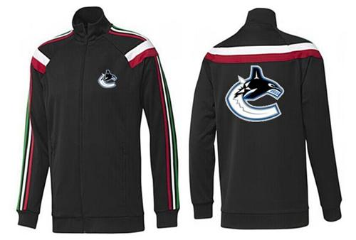 NHL Vancouver Canucks Zip Jackets Black-2