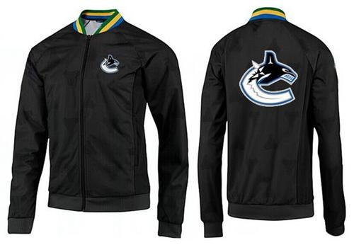 NHL Vancouver Canucks Zip Jackets Black-3