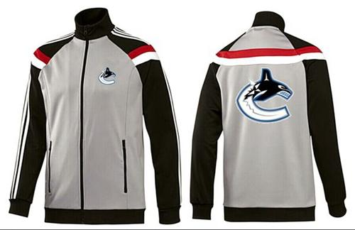 NHL Vancouver Canucks Zip Jackets Grey