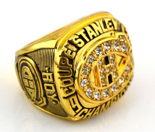 NHL Montreal Canadiens World Champions Gold Ring