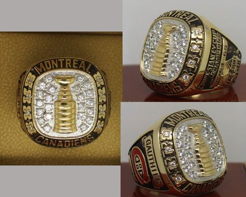 1965 NHL Championship Rings Montreal Canadiens Stanley Cup Ring