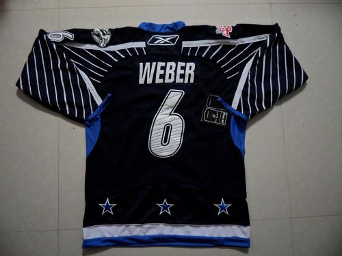 Predators #6 Shea Weber 2011 All Star Stitched Dark Blue NHL Jersey