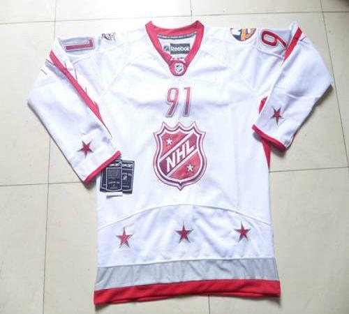 Islanders #91 John Tavares 2012 All Star White Stitched NHL Jersey