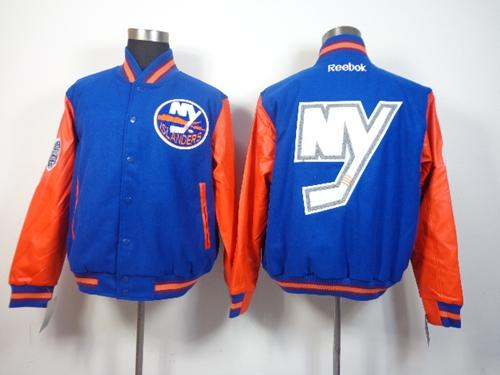 New York Islanders Blue Stadium NHL Jacket