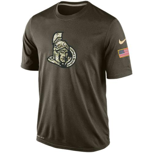 Men's Ottawa Senators Salute To Service Nike Dri-FIT T-Shirt
