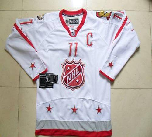 Senators #11 Daniel Alfredsson 2012 All Star White Stitched NHL Jersey