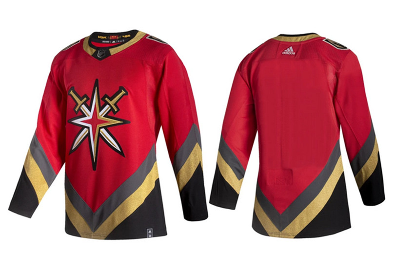 Men's Vegas Golden Knights Red Stitched NHL Jersey