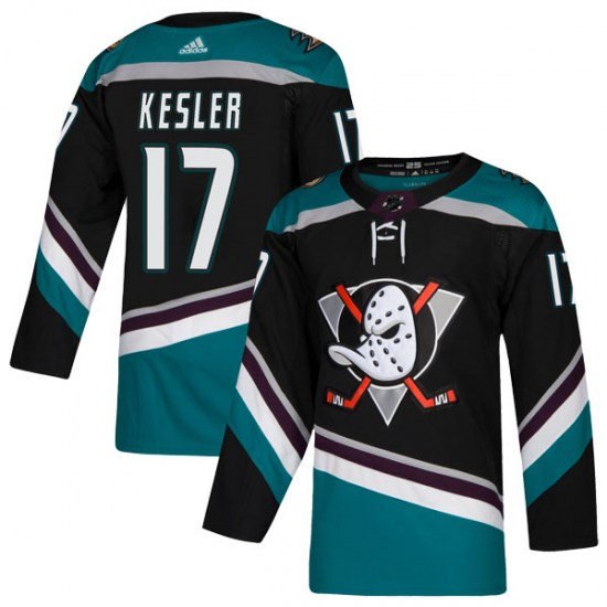 Men's Adidas Anaheim Ducks #17 Ryan Kesler Black Stitched NHL Jersey