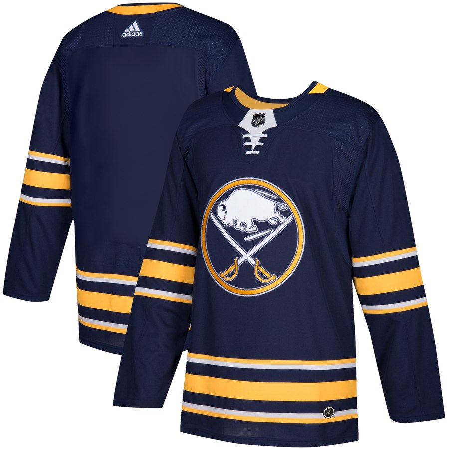 Men's Adidas Buffalo Sabres Navy Stitched NHL Jersey