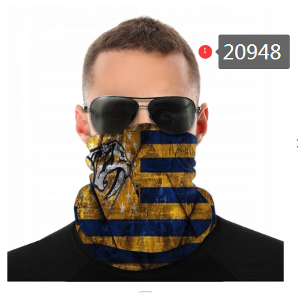 Predators Face Scarf 020948 (Pls Check Description For Details)Predators Face Mask Kerchief