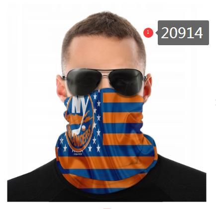 Islanders Face Scarf 020914 (Pls Check Description For Details)Islanders Face Mask Kerchief