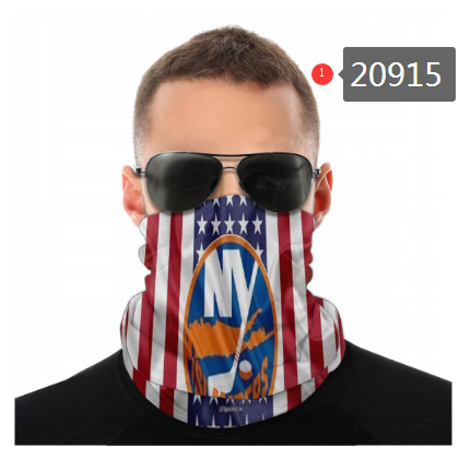 Islanders Face Scarf 020915 (Pls Check Description For Details)Islanders Face Mask Kerchief