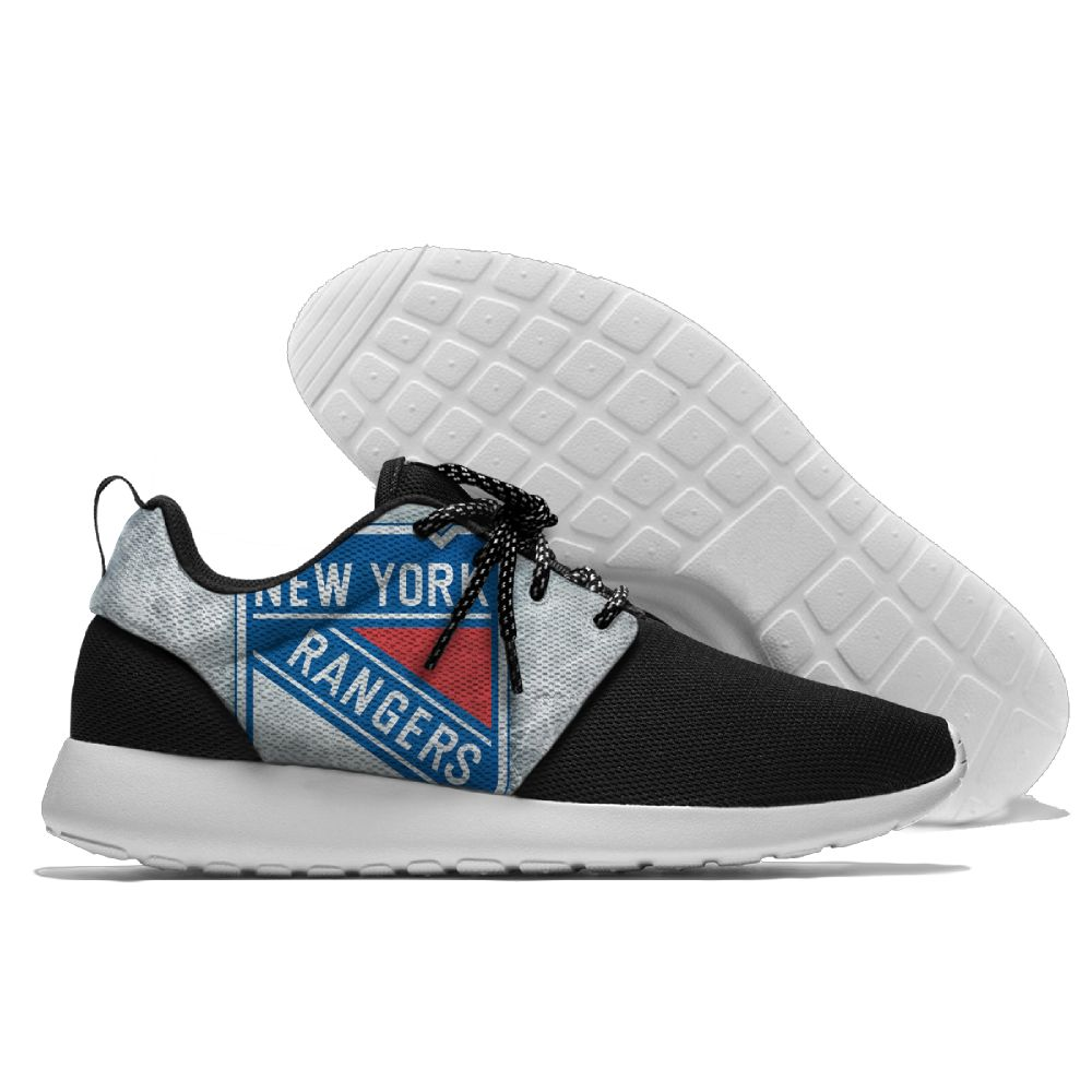 Men's NHL New York Rangers Roshe Style Lightweight Running Shoes 002