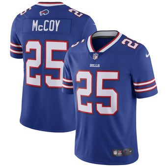 Nike Bills #25 LeSean McCoy Blue Men's Stitched NFL Elite Rush Jersey