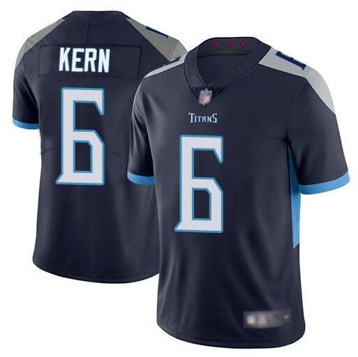 Men's Tennessee Titans #6 Brett Kern Navy Vapor Untouchable Limited Stitched NFL Jersey