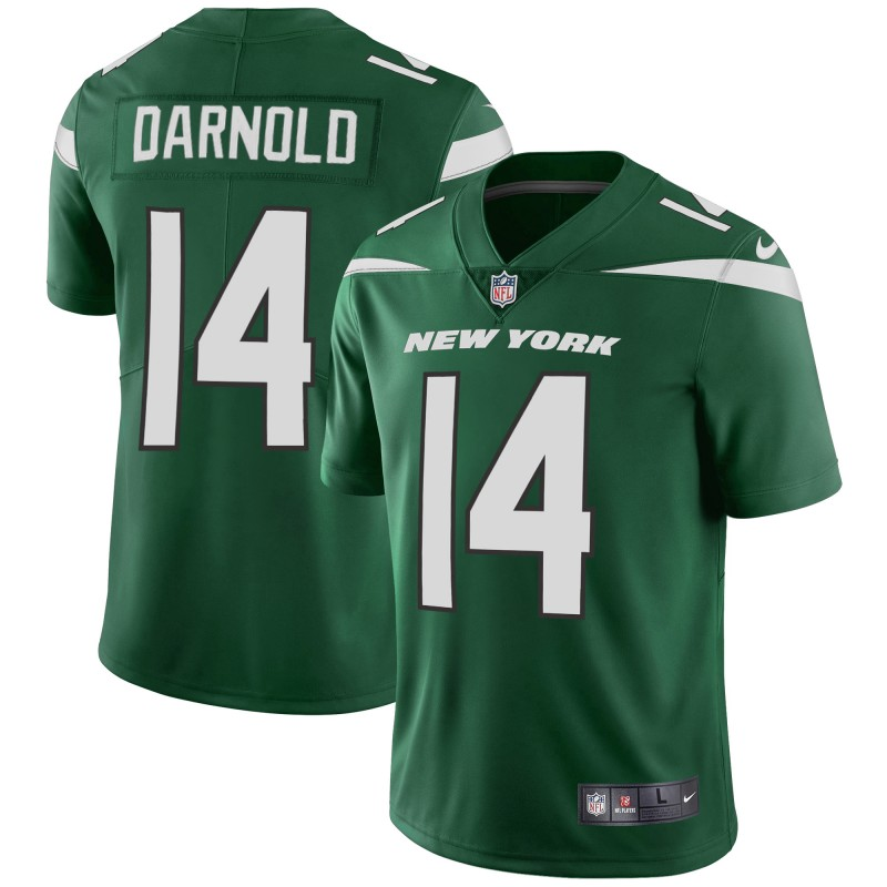 Men's New York Jets #14 Sam Darnold Green Vapor Untouchable Limited Stitched NFL Jersey