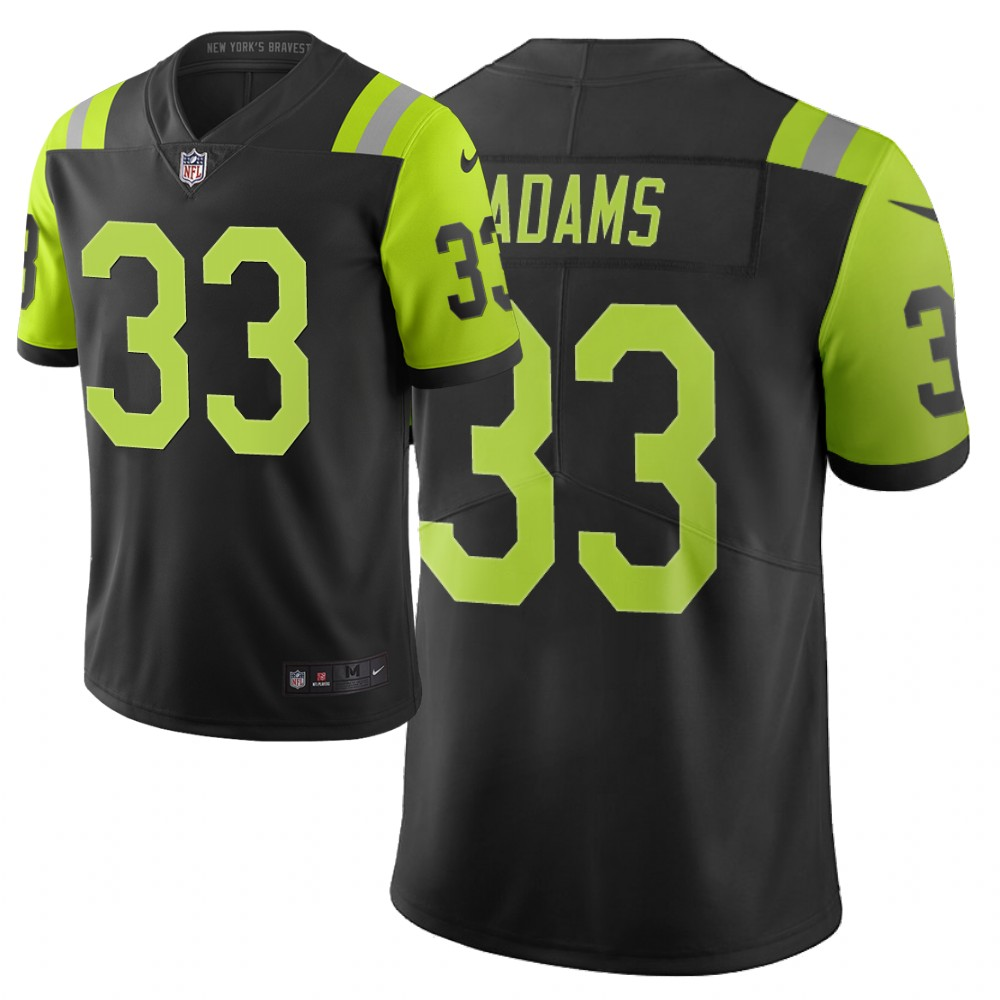 Men's New York Jets #33 Jamal Adams Green 2019 City Edition Limited Stitched NFL Jersey